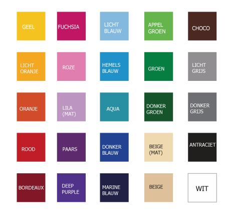 kleurenkaart stickers