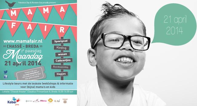 Mamafair Breda Tweede Paasdag maandag 21 april